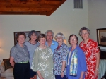 Barbara Bennett, Gretchen Barnette, Ann Sloan, Margaret Beattie, Marilyn Raper and Ann Lee Barnhardt