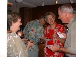 Ann Sloan, Ann Lee Barnhardt and Bob Shoffner