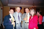 Harold Tharrington, Jerry Jones, Ed and Janet Winkler