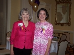 Margaret Starnes Jeffries and Lynne Courtney Diehl